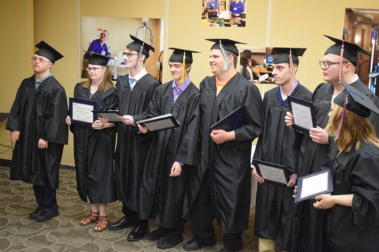 Of Project SEARCH's eight 2018-19 graduates, all but one are now employed, and the eighth one expects to have a job soon.