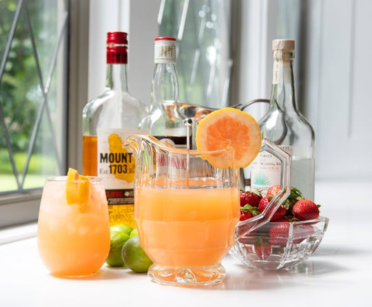 Mixed drinks to serve a crowd