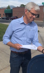 Mike Cooney, Democratic gubernatorial candidate, mails letters to opponents calling on them to continue running clean campaign.