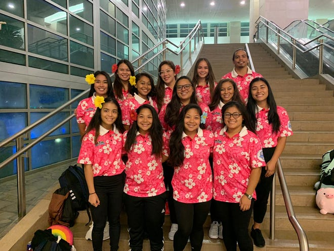 Guam Women's Rubgy Severns team, captained by Olivia Elliott and Rosae Calvo, will play in Jakarta this weekend. Also on the team are Kayla and Kimmy Taguacta, Vina and Vana Terlaje, Paige Surber, Patrisha Manlulu, Hazel Ochavillo, Nikkie Paulino and Tori Starr.
