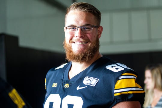"Landan Paulsen, a fifth-year senior offensive lineman, is taking one class this semester as he treasures his final football moments. ""When my time's up, my time's up. But I'm living it right now, and it's a lot of fun for me."""