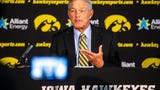 Hear from Iowa head coach Kirk Ferentz had to say about legalized sports betting in Iowa, Aug. 9, 2019.