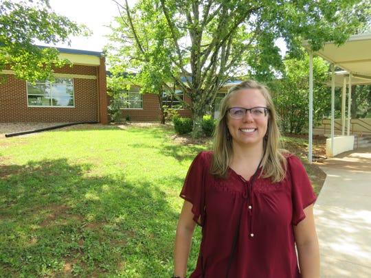 Pond Gap Elementary's new principal, Trina Bruns. 2019