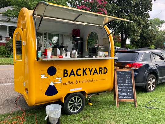 Backyard Coffee & Trailsnacks is a new food truck concept that launched this summer.