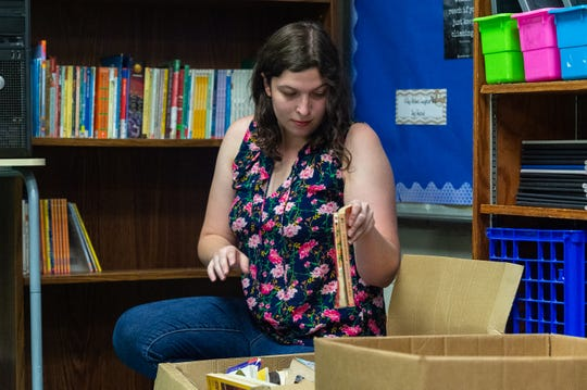Jenna Gisclair is a first-year teacher at Woodvale Elementary School.