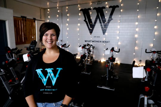 Allison Bruno co-owns What Women Want a fitness center designed to be a place to help women feel comfortable while working out. The business opened in May.