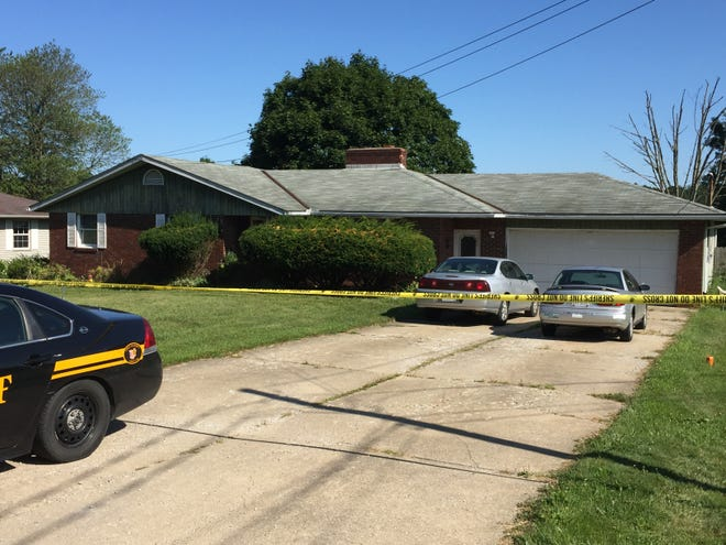 A home in the 1100 block of Flemming Falls Road was the scene of a fatal shooting on Thursday night.