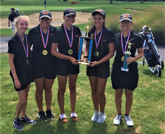 The Ashland Lady Arrows made it 4-for-4 on Thursday with a team tournament win at the Warren JFK Invite giving them their fourth team title in as many days.  Anna Watson took medalist honors with a 4-under par 69 for the tournament.