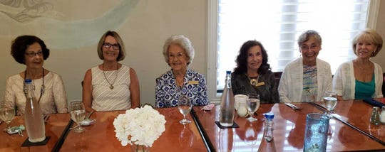 From left: Dorothy Barzin, Jill Dizio, Marie Senechal, Jean King, Cristina Leske and Joyce Frame.