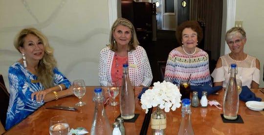 From left: Lenore Yale, Lael Kilpatrick, Erna Lovely and Sonya Benson