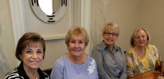 From left: Penny Weidner, Peggy Potter, Susie Berenzweig and Lorraine Rodgers