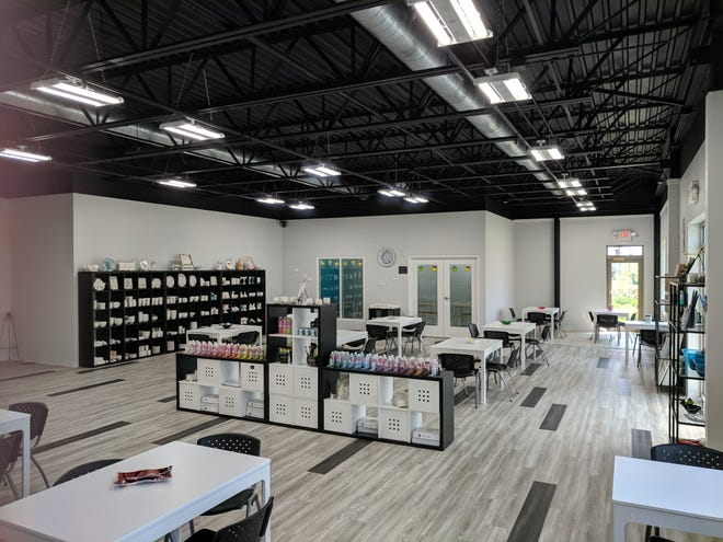 Creative License in Pewaukee opened July 1.