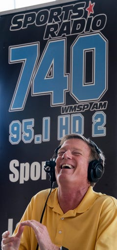 Barry McKnight on his SportsLine sports radio show on 740 WMSP on location in Montgomery, Ala., on Friday August 9, 2019.