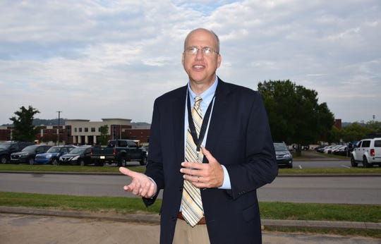 Williamson County Schools superintendent Jason Golden started the new school year in his new position just like many students, excited and nervous.