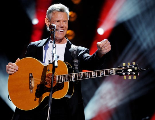 Randy Travis performs during the CMA Music Festival at LP Field on June 7, 2013.