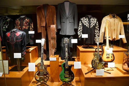 """Kix Brooks & Ronnie Dunn have a new exhibit """"Kings of Neon"""" at the Country Music Hall of Fame which opened Thursday, Aug. 8, 2019, in Nashville, Tenn."""