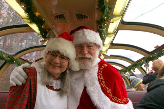Whether you're on board for a nightcap with Mr. and Mrs. Claus or a special Christmas dinner, the holiday spirit is in full swing on these seasonal rails.