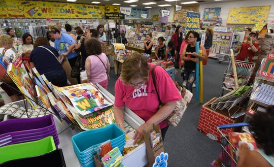 Bosland's Learning Plus in Saddle Brook is closing at the end of the year. An event August 8, 2019, celebrated its nearly 40 years in the business providing teacher supplies.