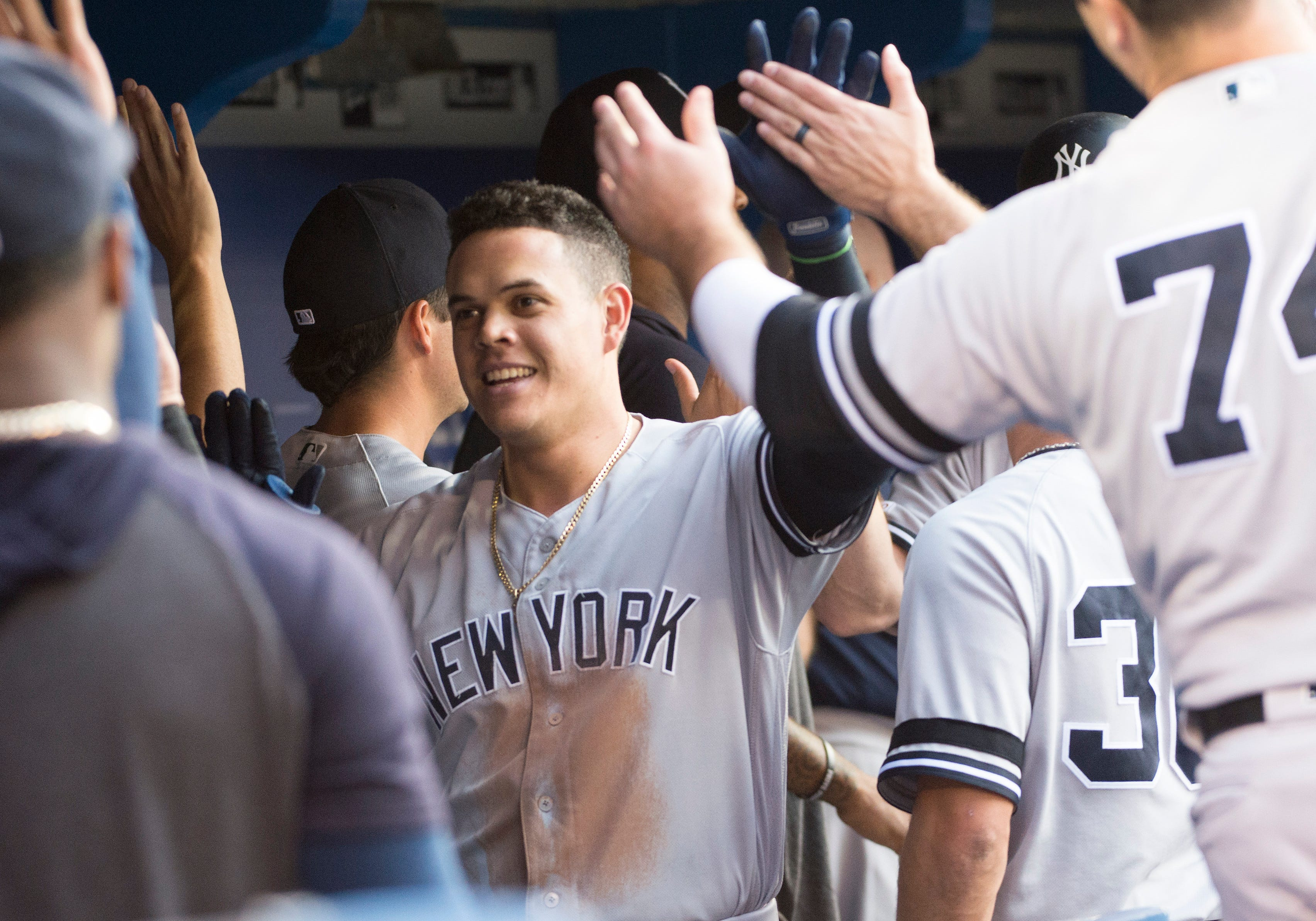 graphic about New York Yankees Printable Schedule called Fresh York Yankees 2020 timetable unveiled: In this article are the highlights