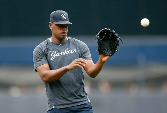 Luis Severino got back on a pitching mound on Friday for the first time in  over five months and tossed 23 pitches before the Yanks-Blue Jays game at Rogers Centre.