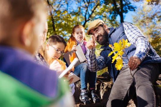 Taking the classroom outdoors has numerous benefits to growing minds.