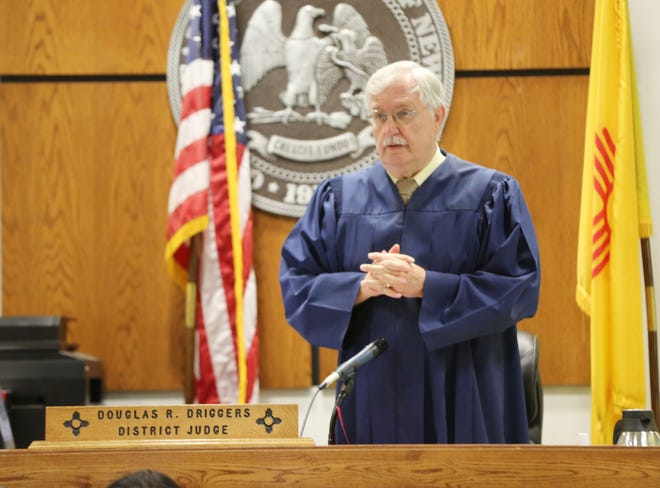 Third Judicial District Court Judge Douglas Driggers ruled Andrew Jason Torres, 35, was a danger to the community during a pre-trial detention hearing Friday Aug. 9, 2019. Torres is accused of punching his mother and shooting her boyfriend during a fight.