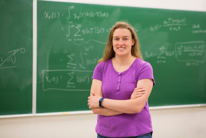 Associate Professor Laura Boucheron, electrical and computer engineering, is involved in a three-year U.S. Department of Education-funded program to increase the graduation rates of underrepresented minorities, particularly minority women, and place them into science and engineering careers.