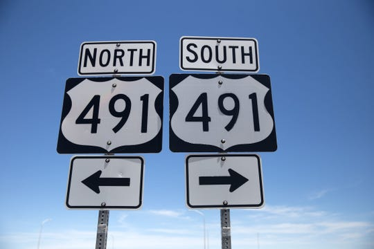 U.S. Highway 491 stretches approximately 194 miles from Monticello, Utah to Gallup.