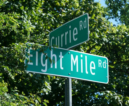 Currie and Eight Mile Road.