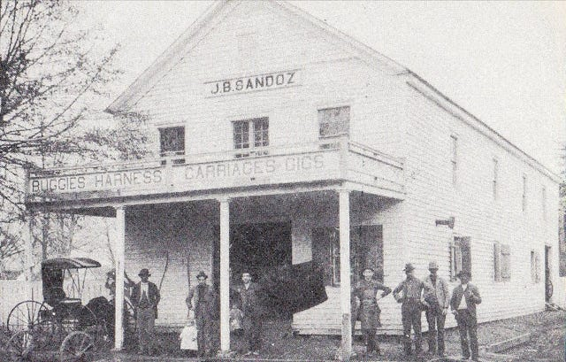 Parlons Opelousas: A look back at the history of J B  Sandoz, Inc