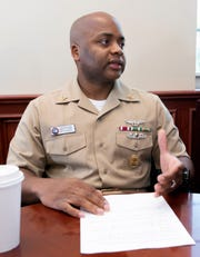 Master Chief Petty Officer Mario Rivers, a Pensacola native, is now Naval Air Station Pensacola'scommand master chief—part of the base's leadership team andthe person charged withadvocating for all of the base's enlisted sailors.
