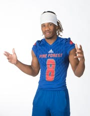 Super Senior - Eric Young.  Pine Forest High School.  August 9, 2019