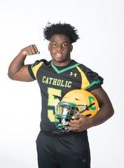Super Senior - Jakobi Jackson.  Pensacola Catholic High School.  August 9, 2019