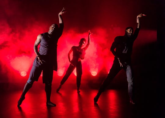 """A.I.M., the dance troupe founded by choreographer Kyle Abraham, performs """"Drive."""""""
