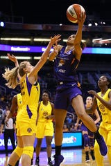 Brianna Turner tied a Phoenix Mercury rookie record Thursday with 14 rebounds in just her second WNBA start.