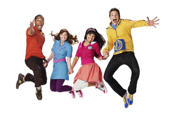 """The Fresh Beat Band"" is not only a TV show, but an actual touring group."