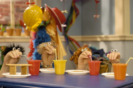 "A scene from ""Oobi,"" which airs on Noggin."