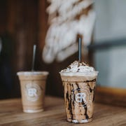 Drinks from Black Rock Coffee Bar in Arizona. Black Rock Coffee Bar has locations throughout the West.