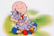 """""""Caillou'' aired on PBS."""