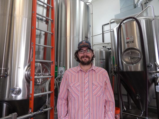 Preston Thoeny is the head brewer at Wren House Brewing.