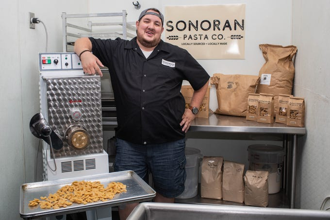 Chef Brent Kille saw a gap in the local pasta market and created Sonoran Pasta Co., a line of heritage grain pastas made from Queen Creek-based Hayden Flour Mills grains.