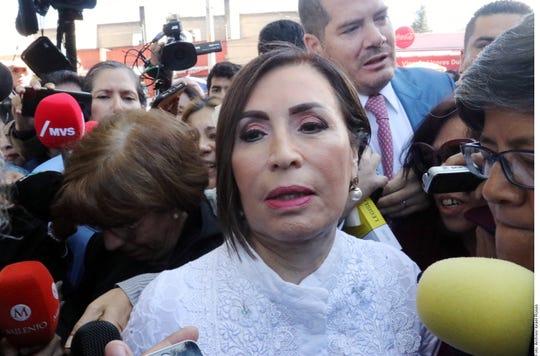Rosario Robles, ex secretaria de Desarrollo Social para el gabinete de Enrique Peña Nieto.