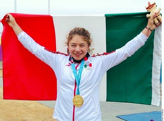 Beatriz Briones conquistó cuatro medallas en los Juegos Panamericanos Lima 2019, en canotaje.