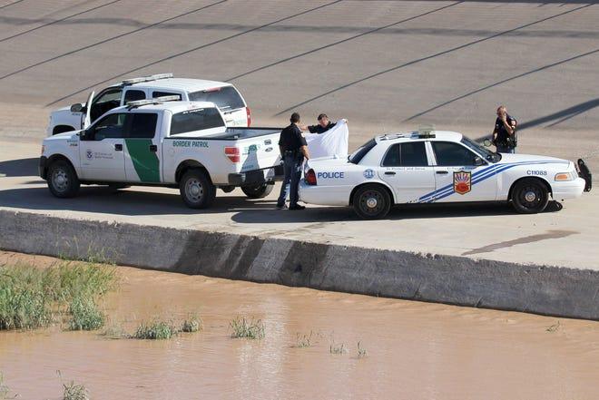 Agentes de la Patrulla Fronteriza reportaron haber recibido disparos desde México.