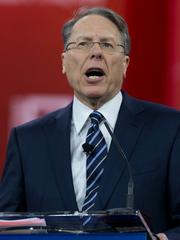 Wayne LaPierre, vicepresidente de la Asociación Nacional del Rifle (NRA).