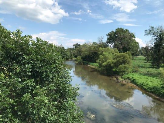 Little Swatara Creek near Keystone Protein's Fredericksburg plant.