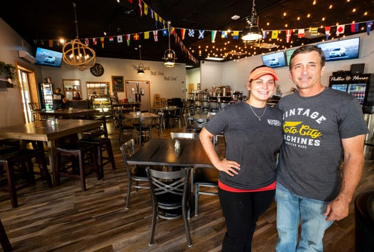 After leaving their space inside War Water Brewery, owners Mark and Kim Stevens have reopened Anchor Point Bistro in its own space in St. Clair's Riverview Plaza.