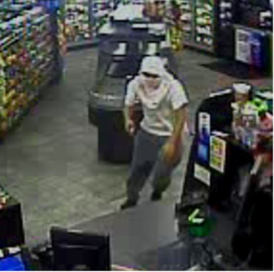 Police are searching for this man in connection to a robbery at the Sunoco in Spring Garden Township. Photo courtesy of Spring Garden Township Police.