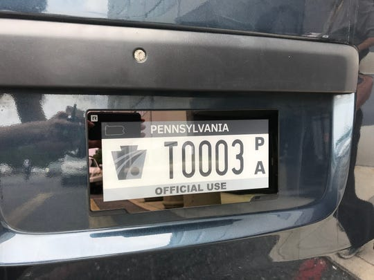 Digital license plates are being used in some states, and Pennsylvania is now testing the technology.