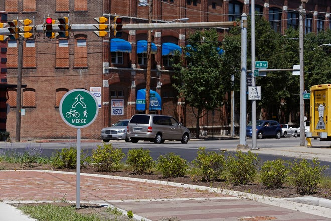 The proposed 2020 budget for the city of Richmond includes funding for workers, supplies and equipment to maintain the landscaping along the new bike paths as well as in other places downtown and the Depot District.